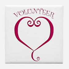 Volunteer Tile Coaster