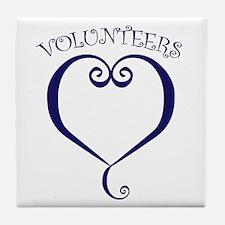 Volunteers Tile Coaster