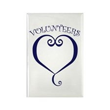 Volunteers Rectangle Magnet (10 pack)