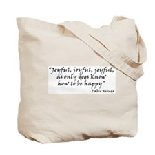 Joyful! w/URL Tote Bag