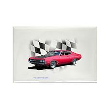 1970 Ford Torino Rectangle Magnet