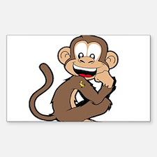 cheeky Monkey Decal