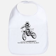 Rather be playing inthe dirt with motorbike Bib