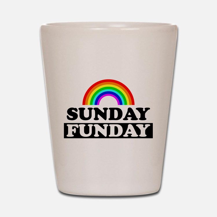 Cute Sunday Shot Glass