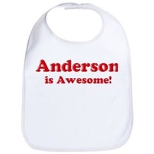 Anderson is Awesome Bib