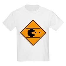 Classic arcade street crossing sign T-Shirt