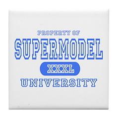 Supermodel University Tile Coaster