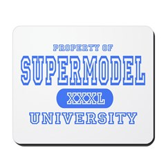 Supermodel University Mousepad