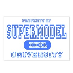 Supermodel University Postcards (Package of 8)