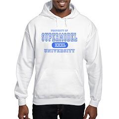 Supermodel University Hooded Sweatshirt