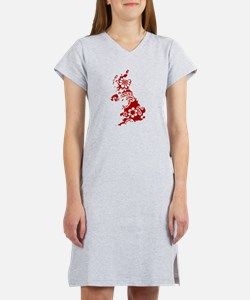 Paisley Women's Nightshirt