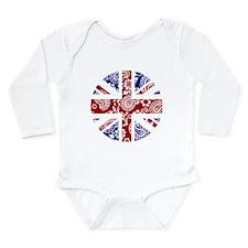 Paisley Jack Long Sleeve Infant Bodysuit