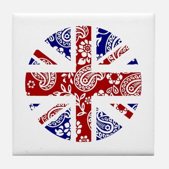 Paisley Jack Tile Coaster