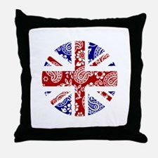 Paisley Jack Throw Pillow