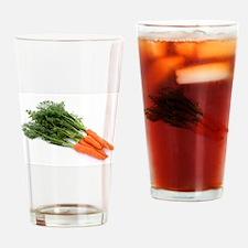 F & V - Carrot Design Drinking Glass