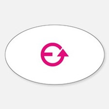 Evolve White Pink PNG Decal