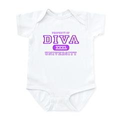 Diva University Infant Bodysuit