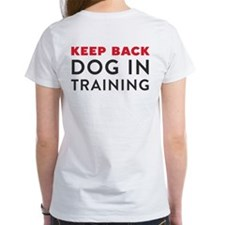 Ask First! Tee w/Keep Back Training