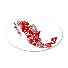 Red Wall Decal