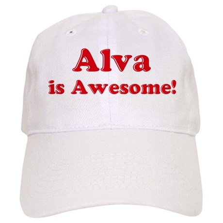 Alva is Awesome Cap