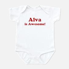Alva is Awesome Infant Bodysuit