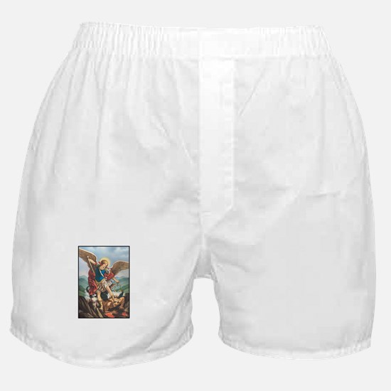 St. Michael the Archangel Boxer Shorts