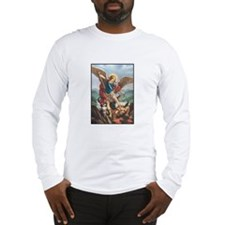 St. Michael the Archangel Long Sleeve T-Shirt