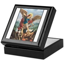 St. Michael the Archangel Keepsake Box