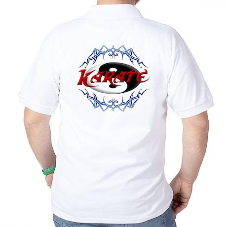 Karate Black Belt Golf Shirt