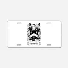 Watkins Aluminum License Plate