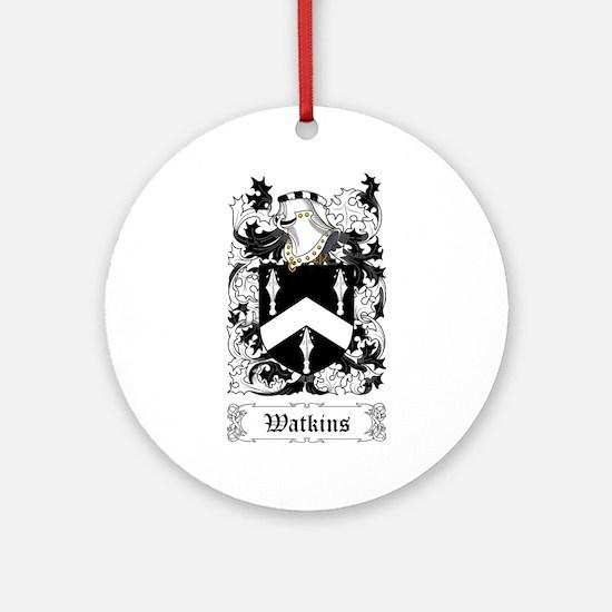 Watkins Ornament (Round)