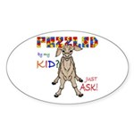 Puzzled? Just Ask! Sticker (Oval 10 pk)
