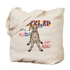 Puzzled? Just Ask! Tote Bag