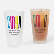 Cute Graphic design Drinking Glass