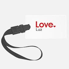 Love Luz Luggage Tag