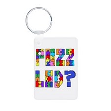 Puzzled? Just Ask! Keychains
