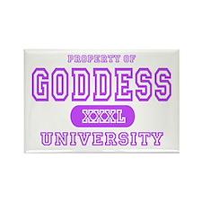 Goddess University Rectangle Magnet