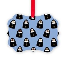 Cute Nuns Ornament