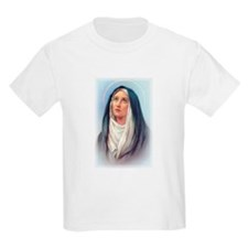 Virgin Mary - Queen of Sorrow Kids T-Shirt
