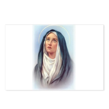 Virgin Mary - Queen of Sorrow Postcards (Package o