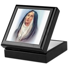 Virgin Mary - Queen of Sorrow Keepsake Box