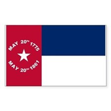 NC 1861 Flag Decal