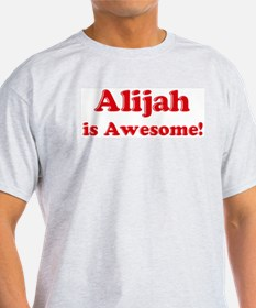 Alijah is Awesome Ash Grey T-Shirt
