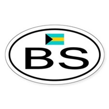 Bahamas Oval Decal
