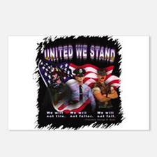 United We Stand Image Postcards (Package of 8)