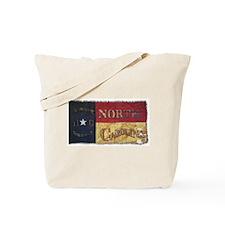 NC Flag Faded Tote Bag
