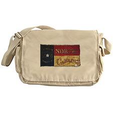 NC Flag Faded Messenger Bag