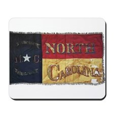NC Flag Faded Mousepad