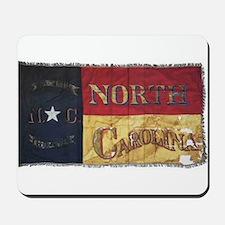 NC Flag Faded Mousepad
