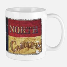NC Flag Faded Mug